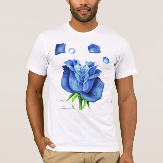 THE BLUE ROSE T-SHIRT