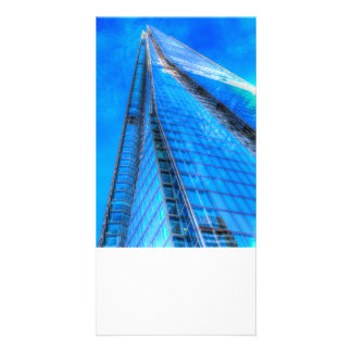The Blue Shard London Personalized Photo Card