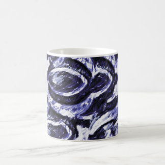 The Blue Spirals Coffee Mug
