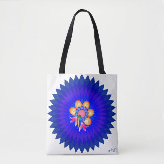 The Blue Tote Bag