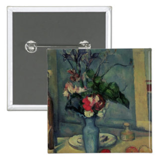 The Blue Vase, 1889-90 15 Cm Square Badge