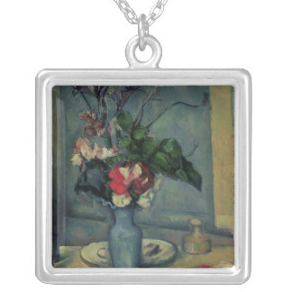 The Blue Vase, 1889-90 Silver Plated Necklace