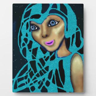 The Blue Veil. Plaque