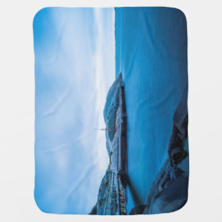 The Blue Water Baby Blankets