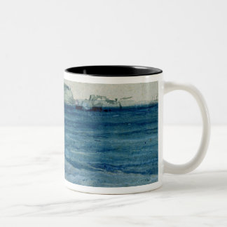 The Blue Waters of Plymouth, 19th Two-Tone Coffee Mug