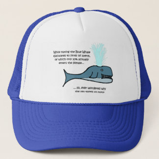 The Blue Whale... Trucker Hat
