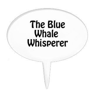 the blue whale whisperer