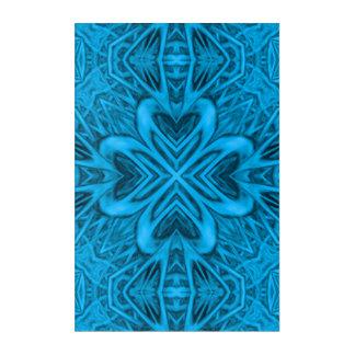 The Blues Kaleidoscope  Acrylic Wall Art