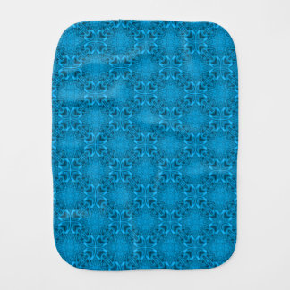 The Blues Kaleidoscope   Burp Cloth