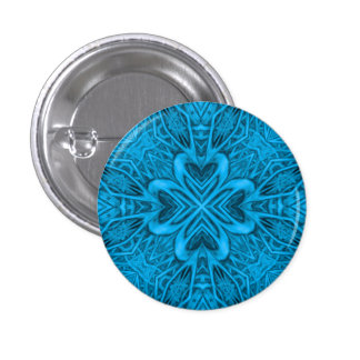 The Blues Kaleidoscope Buttons And Pins