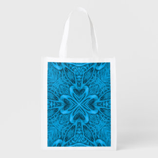 The Blues Kaleidoscope Reusable Bags Market Totes