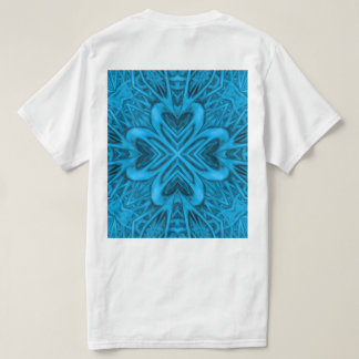 The Blues Kaleidoscope Shirts Back