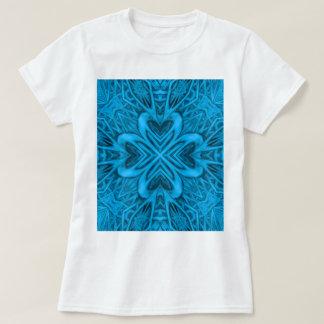 The Blues Kaleidoscope Womens Shirts Front & Back