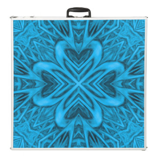 "The Blues  Vintage Kaleidoscope 96"" Pong Table"