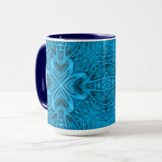 The Blues Vintage Kaleidoscope  Combo Mug