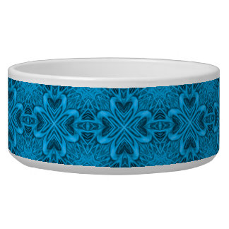 The Blues  Vintage  Kaleidoscope  Pet Dish