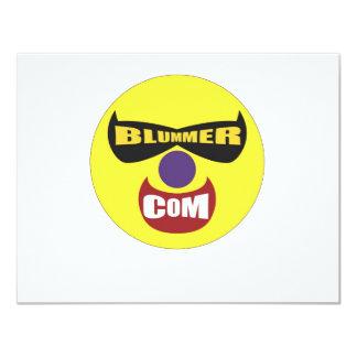 The Blummer Dot Com Store 11 Cm X 14 Cm Invitation Card