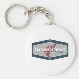 The Boarding Crew Basic Round Button Key Ring