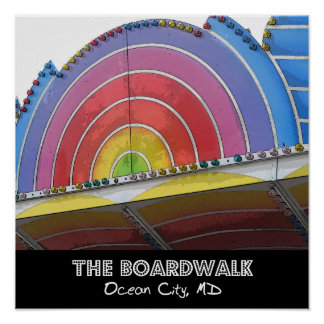 The Boardwalk Poster
