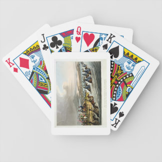 The Boasted Crossing of the Niemen at the Opening Bicycle Playing Cards