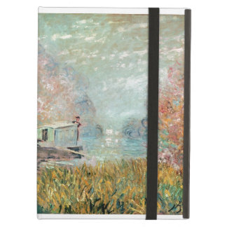 The Boat Studio on the Seine, 1875 Case For iPad Air