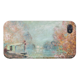 The Boat Studio on the Seine, 1875 iPhone 4/4S Case