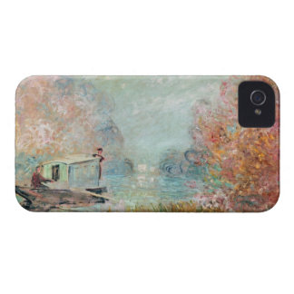 The Boat Studio on the Seine, 1875 iPhone 4 Cover