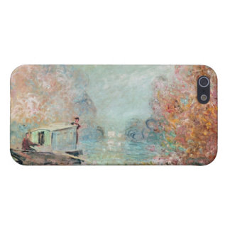 The Boat Studio on the Seine, 1875 iPhone 5/5S Case