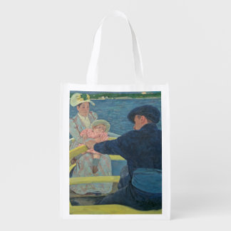 The Boating Party, 1893-94 (oil on canvas) Reusable Grocery Bag