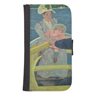 The Boating Party, 1893-94 (oil on canvas) Samsung S4 Wallet Case