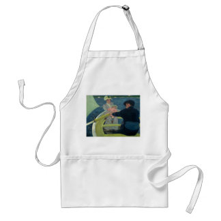 The Boating Party by Mary Cassatt Apron