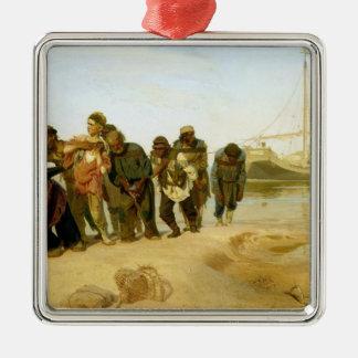 The Boatmen on the Volga, 1870-73 Christmas Ornament