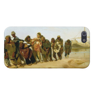 The Boatmen on the Volga, 1870-73 iPhone 5/5S Case