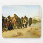 The Boatmen on the Volga, 1870-73 Mouse Pad