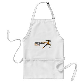 The BODY Achieves what the MIND Believes Gold Standard Apron