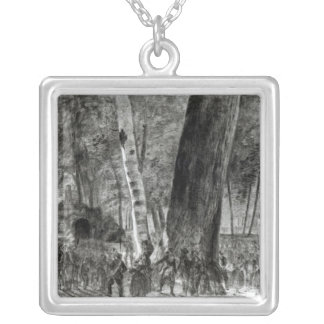 The Body of Jean Paul Marat Silver Plated Necklace