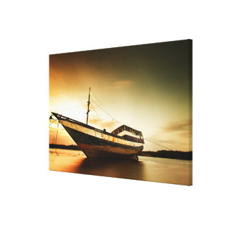 The Body Of Old Ship | Bali, Indonesia Canvas Print