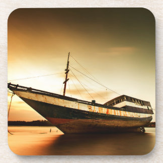 The Body Of Old Ship | Bali, Indonesia Coaster