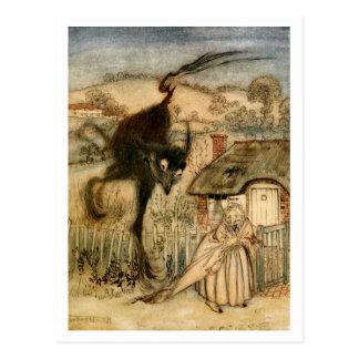 The Bogey-Beast Postcard