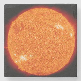 The Boiling Sun Stone Coaster
