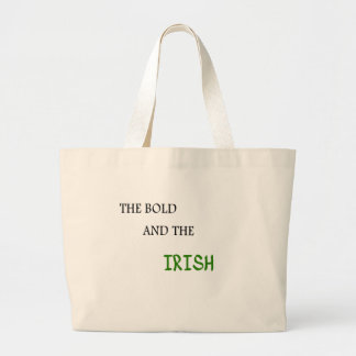 The Bold and the Irish Tote Bags