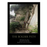 The Bolder Path Poster