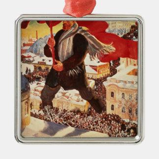 The Bolshevik, 1920 Christmas Ornament