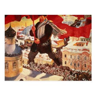 The Bolshevik, 1920 Postcard
