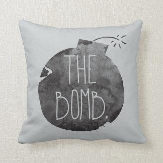 The bomb. cushion