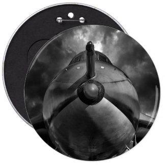 The Bomber BW 6 Cm Round Badge