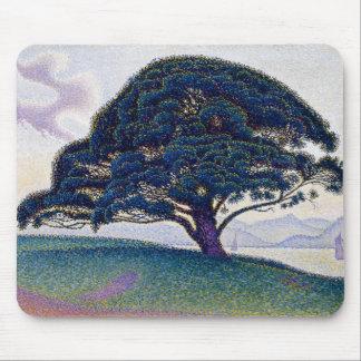 The Bonaventure Pine by Paul Signac Mouse Pad
