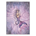 The Bond Mother and Baby Mermaids Card