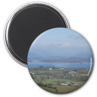 The Bonnie Banks of Loch lomond 6 Cm Round Magnet