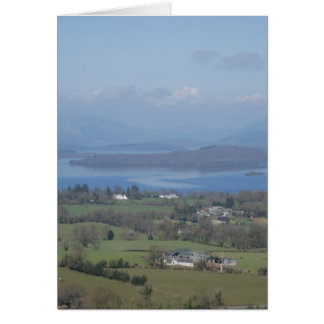 The Bonnie Banks of Loch lomond Card